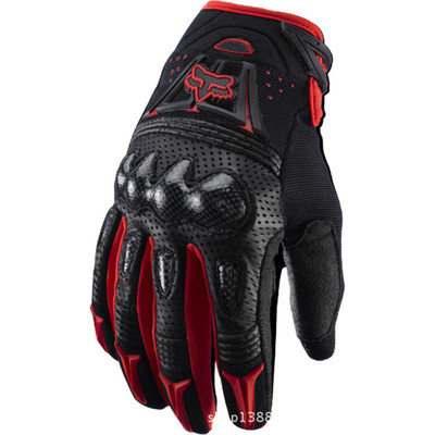 Motorcycle Full Finger Fox Bomber Gloves 8USD