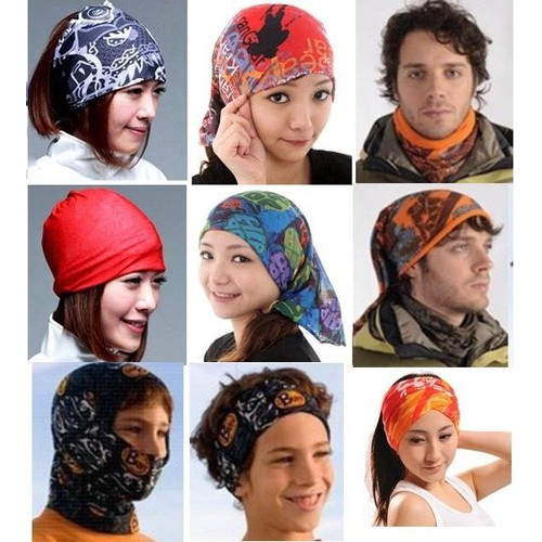 Motorcycle Scarf Headwear 1 USD