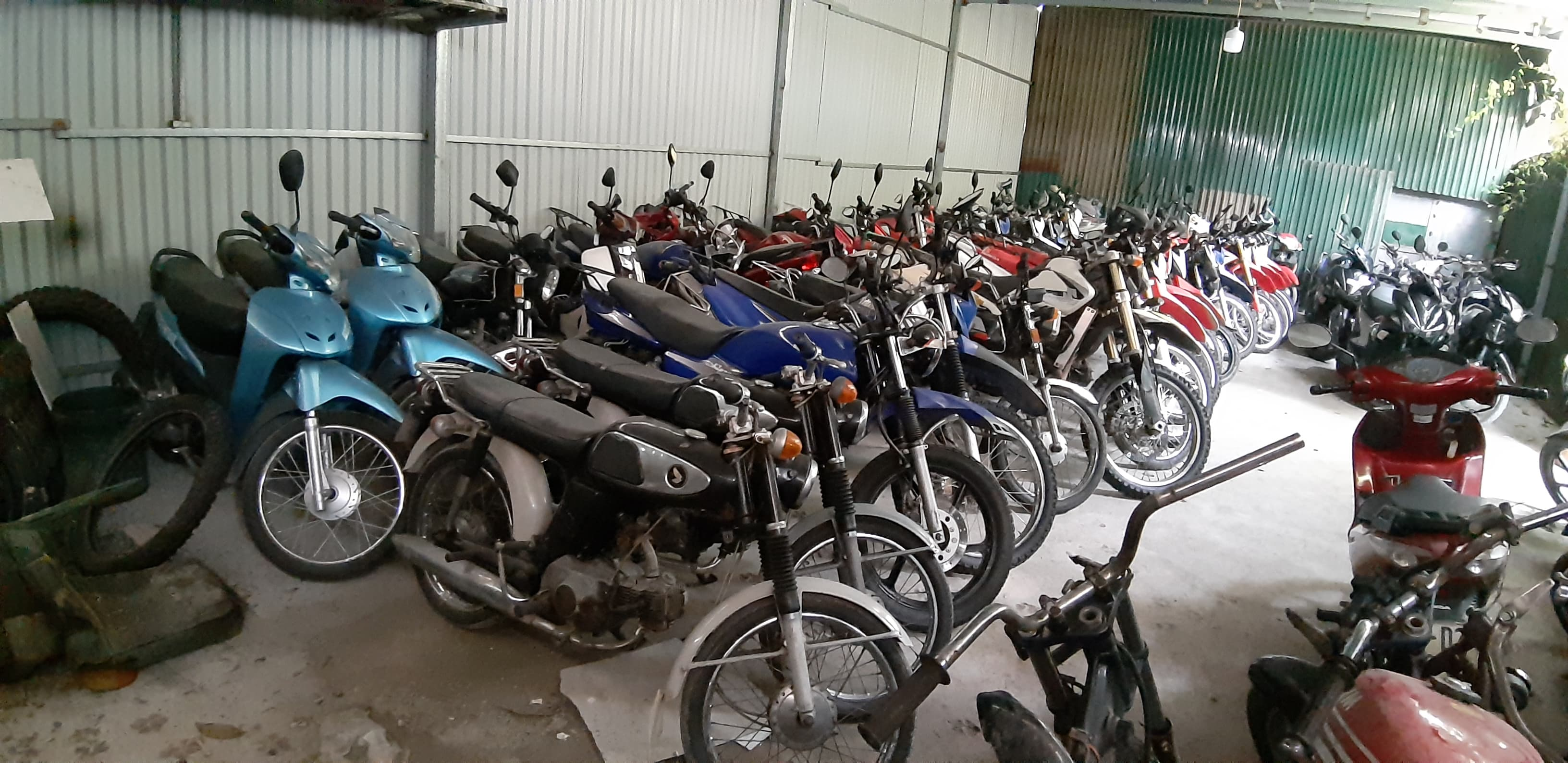 semi automatic motorbikes for sale