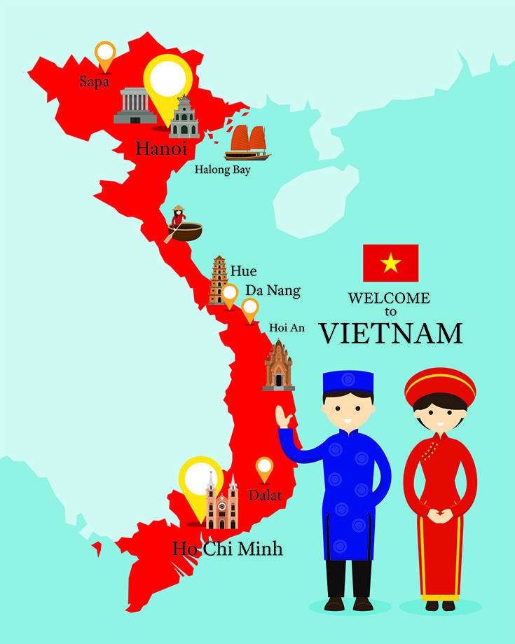 Can I ride a motorcycle in Vietnam?